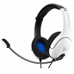 LVL40 Wired Stereo Headset - White