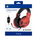 Gaming Headset V3 Red Sony licensed
