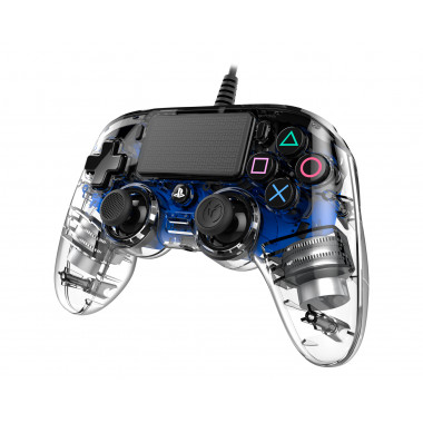 Nacon Wired Compact Controller - LED Blue