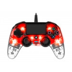 Nacon Wired Compact Controller - LED Red