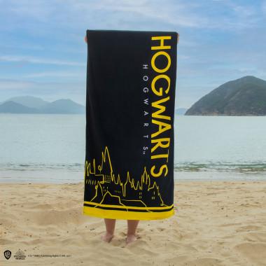 Harry Potter Beach Towel Hogwarts