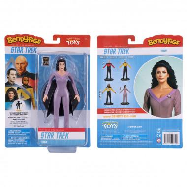 Bendyfig Star Trek Counselor Troi Bendyfig