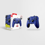 Faceoff Deluxe+ Audio Wired Controller - Blue Camo