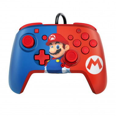 Faceoff Deluxe+ Audio Wired Controller -  Mario