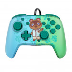 Faceoff Deluxe+ Audio Wired Controller - Animal Crossing