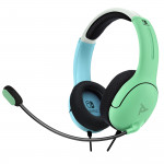 LVL40 Wired Stereo Headset - Blue/Green
