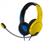LVL40 Wired Stereo Headset - Yellow/Blue