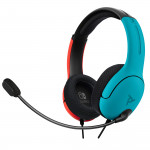 LVL40 Wired Stereo Headset -Joycon Blue/Red